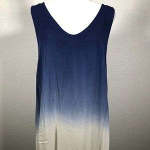 Ombre Swing Dress - Large